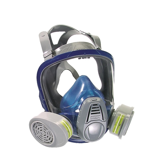 MSA Advantage 3000 Full Face Respirator, Twin Silicone Facepiece