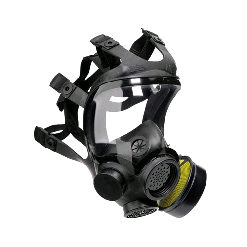 MSA 813859 Advantage 1000 Riot Control Gas Mask, Medium