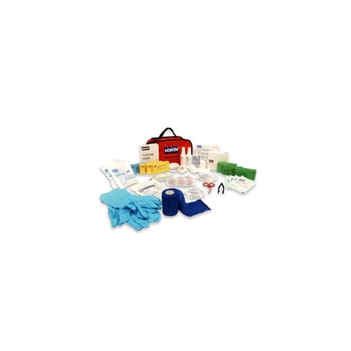 North Redi-Care Large First Aid Kit w/CPR Barrier
